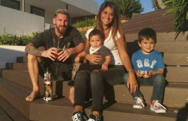 Los hijos de Messi revolucionaron las redes sociales