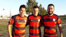 El sábado le ganaron 3 a 1 a Taladro en la UOM. El delantero hizo el tercero de penal.