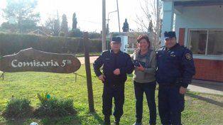 Policías de Pueblo General Belgrano encontraron una billetera y la devolvieron