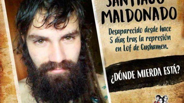 Un hombre aseguró que dejó en Ceibas a un muchacho con las características de Santiago Maldonado