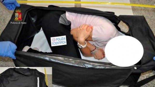La modelo drogada y secuestrada en Italia para ser vendida en una subasta