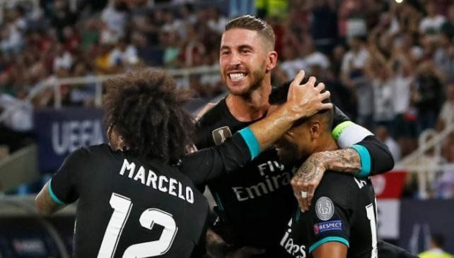 Real Madrid se quedó con la Supercopa de Europa