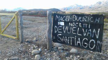 Los allegados al joven acusan a la Gendarmería de haber reprimido a la comunidad mapuche Pu Lof