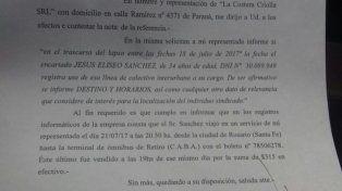 El dato. Una empresa confirmó que se trasladó desde Paraná.