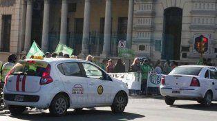 Protesta de los trabajadores de los jardines maternales