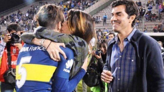 Isabel Macedo, Fernando Gago y un beso que da que hablar