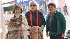 María del Pilar Blanca, Graciela Elvira Ramos y María Justa Reynoso