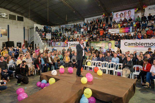 El discurso del intendente de Paraná