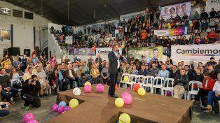 El discurso del intendente de Paraná, Sergio Varisco.