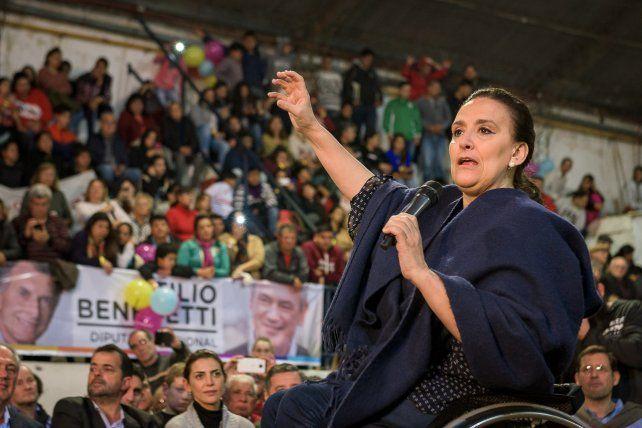 El cierre de Cambiemos en Paraná fue con Benedetti, Michetti y Varisco