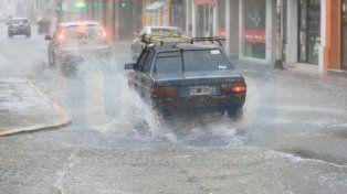 Alerta por tormentas fuertes con lluvias intensas y ráfagas en Entre Ríos