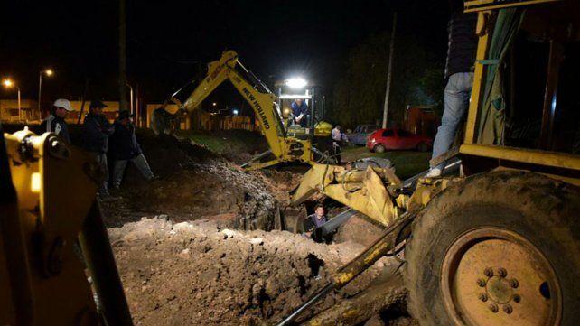 Intentó hacer una conexión clandestina y dejó sin agua a varios barrios de Concepción del Uruguay