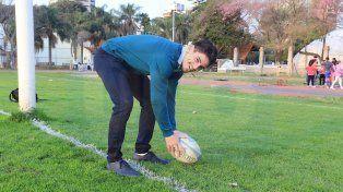 Facu Otegui, el hombre try del Torneo Regional