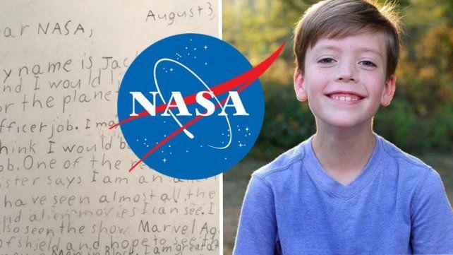 Increíble respuesta de la NASA tras la carta de un niño para ser Guardián de la Galaxia