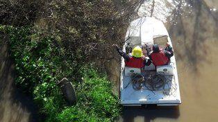 Los bomberos de Nogoyá trabajando. Foto Ilustrativa.