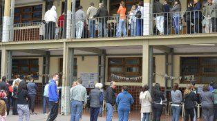 ¿A qué hora vas a votar? Foto UNO Mateo Oviedo.