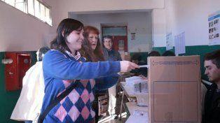 Lucía Varisco emitió su voto