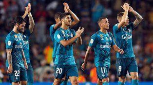 Real Madrid derrotó a Barcelona en el primer partido de la Supercopa