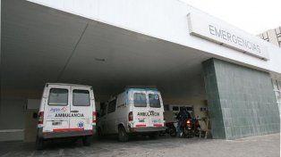 No resistió. El mecánico dejó de existir en la guardia del hospital San Martín.