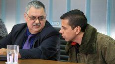 La discusión final. El abogado de Goró va a reclamar la absolución del procesado. Foto UNO Diego Arias.