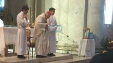monsenor karlic presidio la misa a 40 anos de su consagracion episcopal