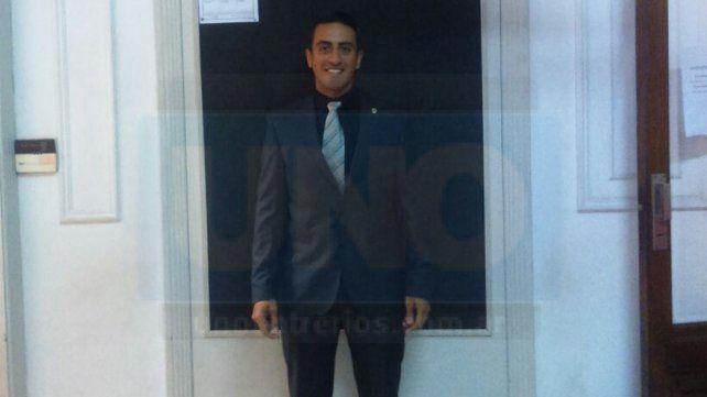 Daniel Zamora estuvo en la ciudad de Rosario donde firmó su nuevo contrato con AFA.