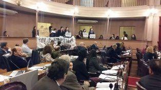 Exigieron la declaración de la emergencia por violencia de género a diputados en plena sesión