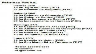 El debut de Patronato en la Superliga será por TNT