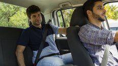 solo la mitad de los conductores argentinos usa el cinturon de seguridad