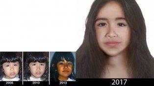 A casi nueve años de su desaparición, difunden una nueva imagen de Sofía Herrera