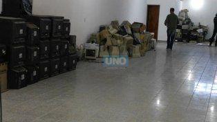 Los residuos eléctricos y electrónicos de Paraná ahora tienen un destino final