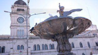 Congelado. El Gobernador Bordet descartó que se generen nuevos ingresos al Estado. Foto UNO Juan Ignacio Pereira.