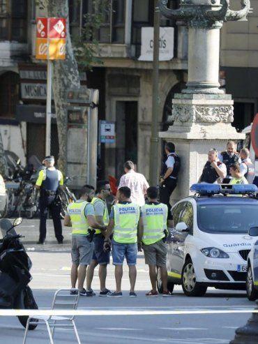 Dos argentinos resultaron heridos tras el atentado en Barcelona