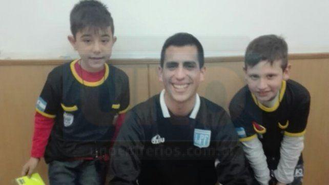 Las historias de dos chicos que sueñan con ser árbitros de fútbol
