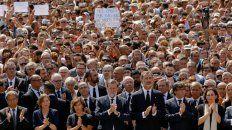 no tengo miedo, el homenaje a las victimas del terrorismo en barcelona y cambrils