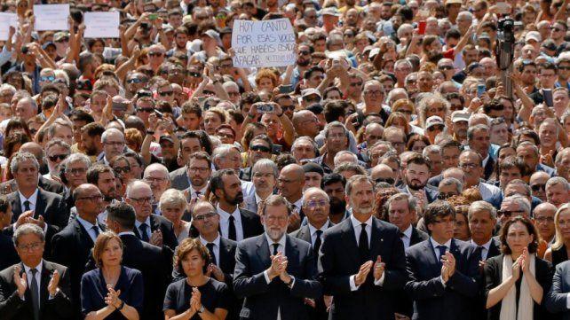 No tengo miedo, el homenaje a las víctimas del terrorismo en Barcelona y Cambrils