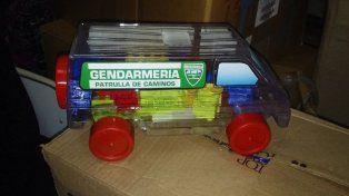 Por el Día del Niño, Larreta regala camioncitos de Gendarmería