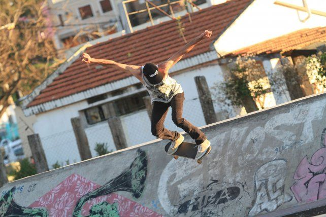 Rodo Pusula filmó y editó un videito en el skatepark