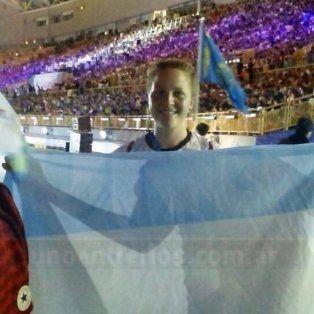 Florencia Senger debutó con la camiseta argentina en los juegos mundiales universitario que se desarrollan en China
