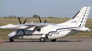 La avioneta Mitsubishi LV-MCV