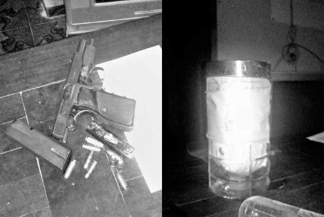 Cuatro condenados por venta  de drogas en el barrio La Floresta