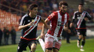 Nacho Fernández tuvo un aceptable partido en el equipo que dirige Marcelo Gallardo.
