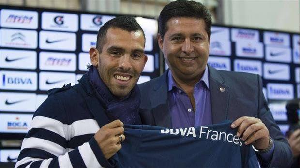 Angelici dijo que Boca no está dispuesto a invertir 6 millones de dólares para el regreso de Carlos Tevez