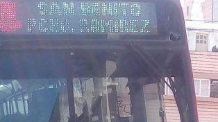 Piedras y más piedras. En los últimos días los ataques se registraban en el Belgrano y Yatay.
