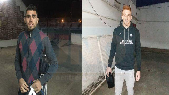 Julio Illanes y Gianluca Vaccarini las nuevas caras de Atlético Paraná