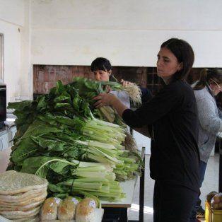Pirí Hué realizó la entrega de productos en Concordia. Foto gentilezaLalo Labela