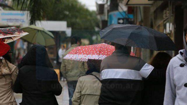 Miércoles con probabilidad de chaparrones y tormentas en Entre Ríos