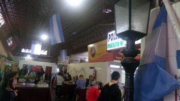 El techo de la Feria entrará en las refacciones. Foto UNO.