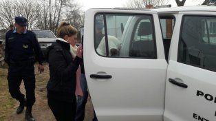 A Gualeguay. la mujer de La Carlota fue detenida mientras hablaba extorsionando a otra víctima.