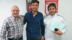 Sandona llegó a Patronato a préstamo por un año con una opción de compra. (Gentileza Prensa Patronato)